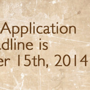 2015 Application Deadline