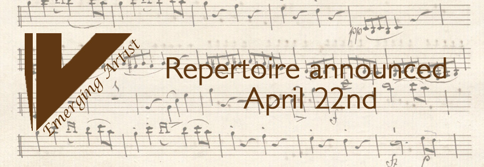 2015 Repertoire announced