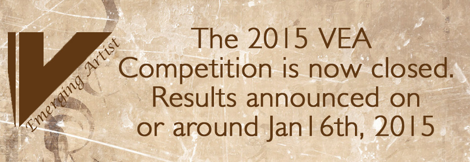 2015 VEA Competition now closed