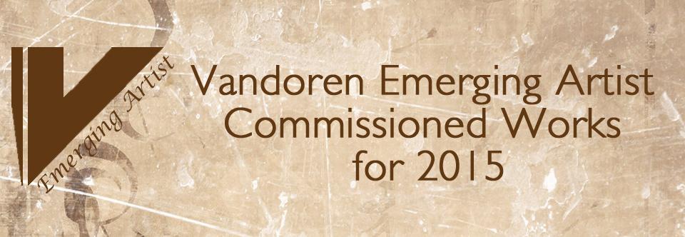 Vandoren Emerging Artist Commissioned Works for 2015